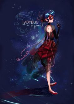 Miraculous Ladybug Fanart by Ghostle by GhostleArt