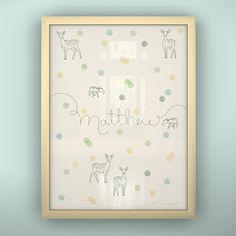LittleLion Studio Prints Confetti Unframed Art | AllModern
