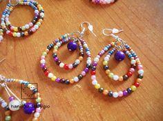 Orecchini perline multicolore!  http://www.ebay.it/itm/161840978599?ssPageName=STRK:MESELX:IT&_trksid=p3984.m1555.l2649
