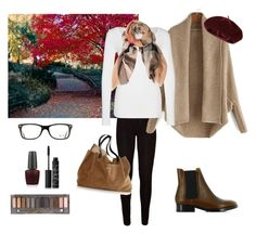 Untitled #7 by bidlekerika on Polyvore featuring polyvore fashion style G-Star Acne Studios Burberry Accessorize Ray-Ban Urban Decay NARS Cosmetics OPI clothing