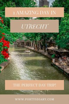 Looking for a one day trip suggestion in the Netherlands? Then on this post, I'm sharing how you can spend one amazing day in Utrecht, right at the heart of the Netherlands! Europe Travel Guide, Europe Destinations, Travel Guides, One Day Trip, Utrecht, Cool Places To Visit, Netherlands, Heart, Amazing