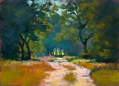 Park Road 8 by Rita Kirkman Limited Edition Print ~ 10 x 13 inches