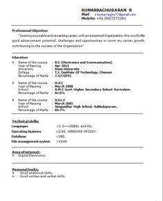 resume format for job fresher httpjobresumesamplecom1096 - Senior Technical Recruiter Resume