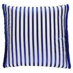 Discover the Designers Guild Franchini Cushion  - Cobalt at Amara