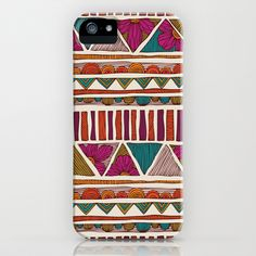 Tribal stripes iPhone & iPod Case by Valentina - $35.00
