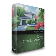 CGAxis Models Volume 72 Trees IX