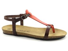 Village Shoes in Ashland Oregon sells fabulous women's shoes and boots as well as handbags, jewelry and more. Orange Sandals, Spring Sandals, Birkenstock Mayari, Orange Leather, Spring Summer 2015, Leather Sandals, Brown, Cork, Lotus