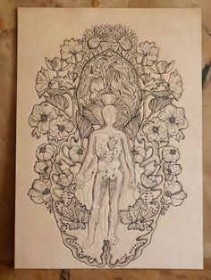 © Dionne Marshall, cuero tatuado para indecisos   Cóctel Demente  #tatoo #tatuaje