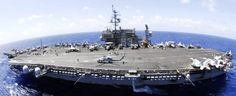 USS Kitty Hawk CVA CV 63 with CVW-5 embarked - exercise RIMPAC 2008