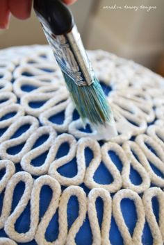 sarah m. dorsey designs: DIY Folded Rope Dome Pendant Light How To