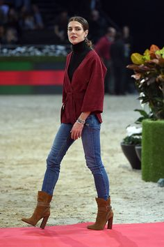 Charlotte Casiraghi Day 4 of the Gucci Masters