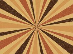 Grunge Retro Brown Colours Burst Vintage Background.