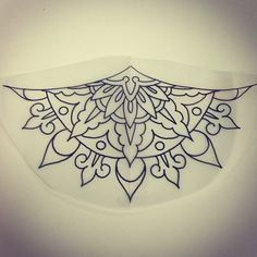 I would love to have this as a sternum tattoo