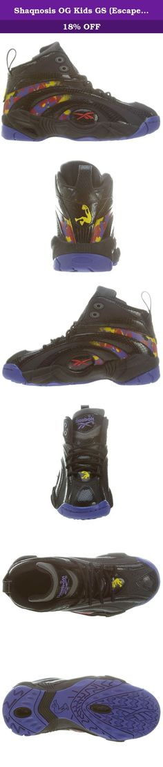 d70aa9929e18 Shaqnosis OG Kids GS (Escape from LA) in Black Grey Purpleby Reebok