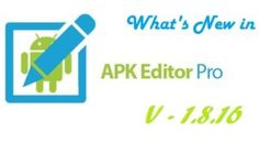 Want to know what's new in the latest update to APK Editor Pro? Here is the changelog for version 1.8.16 of APK Editor Pro.
