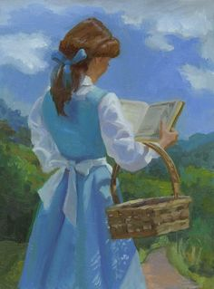 Every Morning Just the Same - by C.M. Cooper, giclee on canvas, L/E 95 This is so pretty!
