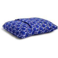 Vera Bradley Fleece Travel Blanket in Cobalt Blooms ($38) ❤ liked on Polyvore featuring home, bed & bath, bedding, blankets, cobalt blooms, flower bedding, travel throw, flower stems, vera bradley bedding and sleeved blanket