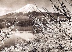 Mt. Fuji by Koyo Okada Japan, Okinawa, Fuji, Mount Rainier, My Dream, Poster, Wanderlust, Mountains, Glass