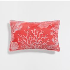 Image 1 of the product Fish coral linen cushion cover