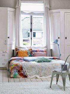 Decorando o quarto: cama no chão - Casinha Arrumada