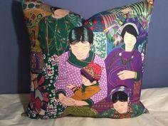 MANUEL CANOVAS VOYAGE EN CHINE; LEE JOFA SHAYLA SILK, CUSTOM PILLOW in Collectibles | eBay