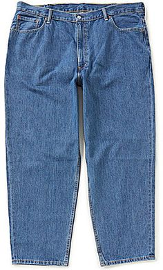 Levi's® Big & Tall 560TM Comfort-Fit Jeans Big & Tall Jeans, Mens Big And Tall, Dillards, Denim Shorts, Stylish, Fitness, Shopping, Clothes, Tops