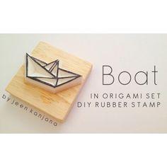 Boat ; Diy Rubber Stamp #rubberstamp #stamp #rubber