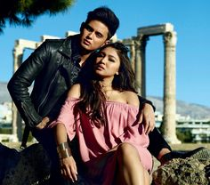 Exclusive: Inside JaDine's Romance in Greece As their love team conquers… Filipino Models, James Reid, Nadine Lustre, Jadine, Just Friends, Celebs, Celebrities, Falling In Love, Love Story