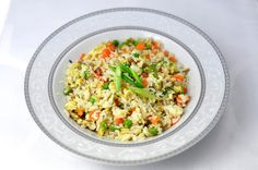 MAKE! Egg Fried Rice: 3 rggs 1 cup carrots 2 cups cabbage 1/2 cup peas 1/2 cup onion 1/2 tbsp soy sauce 1 cup white rice raw 1/2 tsp pepper 1/2 cup snap beans 2 tbsp canola oil 1 tsp garlic