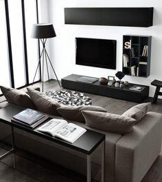 wohnzimmereinrichtung livingroom ideen fr wohnzimmer in schwarz wei boconcept