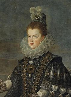 Margaret of Austria, Queen of Spain and Portugal,  by Velasquez