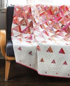 Trifecta quilt, designed by Tanya Finken. From Fons & Porter's Love of Quilting Sept./Oct. 2014