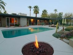 Sunrise Park Vacation Rental - VRBO 348468 - 3 BR Palm Springs, Central House in CA, Palm Springs / 50s Mod/ Recharge in Comfort Peace and Luxury $195