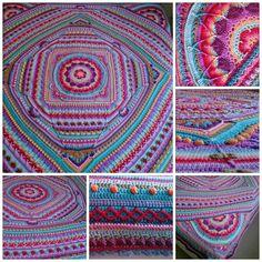 Sophie's Alternate Universe Crochet Pattern --Extends/ builds on Sophie's Universe CAL Blanket