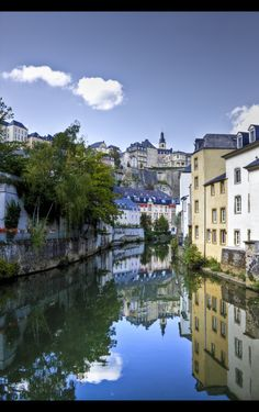 Luxembourg.....always wanted to go here!