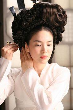"""""""Hwang Jin Yi"""" (Song Hye Kyo) 한복"""