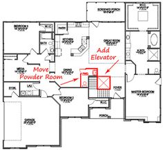 Etonnant See Fully Accessible SAH Floor Plans. Learn How To Build A Wheelchair  Accessible Home.