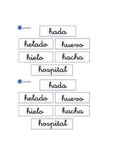 Lernübungen für kinder zu drucken. Vokabular Spanisch zu lernen 8