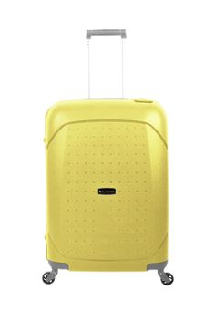 Maleta Gladiator Tarifa Yellow Polypropylene - #trolley #maleta #gold #travel #viajar #viagem #viatjar #maletas #suitcase #luggage #maletasGladiator #GladiatorTravel #Gladiator #yellow
