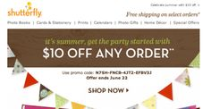 Shutterfly Coupons & Coupon Codes – Whether you are planning to produce a unique personalized present for someone you care about or perhaps a specific keepsake for yourself, Shutterfly di…