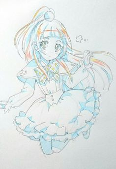 Otaku Anime, Chica Anime Manga, Anime Chibi, Manga Girl, Kawaii Anime, Anime Art, Copic Drawings, Easy Drawings Sketches, Poses Manga