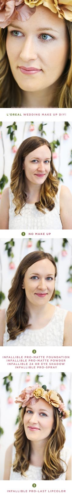 Quick and easy steps to get a wedding look!
