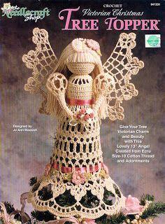 Papel e Linha Amigurumi: Angel crochet - Anjo de crochê