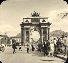 1931. Москва Брэнсона Деку в оригинальном виде. Тверская застава