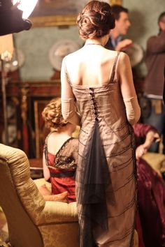 Period costume from Downton Abbey.  Lovely.