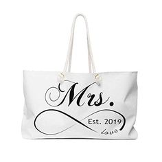 Your place to buy and sell all things handmade Wedding Shower Gifts, Gifts For Wedding Party, Bridal Gifts, Weekender Tote, Tote Bag, Bridesmaid Gifts, Bag Accessories, Trending Outfits, Unique Jewelry