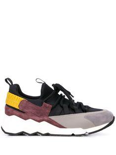 Pierre Hardy Trek Comet Low-top Sneakers In Black Neoprene Rubber, Pierre Hardy, Nike Huarache, Strap Heels, Shoe Brands, Calf Leather, Baby Design, Trek, Me Too Shoes