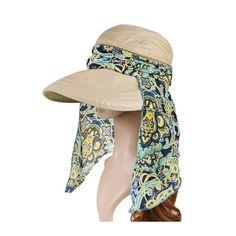 2eedb9f55cd Vbiger Visor Hats Wide Brim Cap UV Protection Summer Sun Hats For Women  (Khaki)