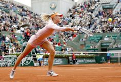 Maria Sharapova tênis em Roland Garros (Foto: EFE)