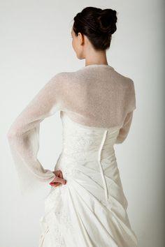 Bolero Schal gedreht für das Brautkleid - Hochzeit von BeeMohr - Boleros & Shrugs - Jacken & Überwürfe - DaWanda